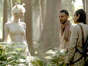 Emma Dumont, Arjun Gupta and Jason Ralph in The Magicians.