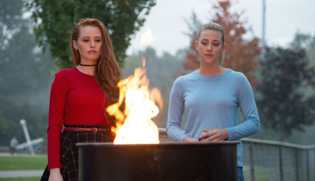 You know how teens be these days, staring longingly into a trash can fire.