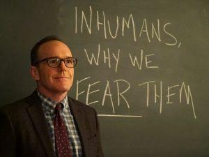 "Clark Gregg as ""Phil Coulson."""