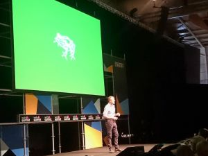 frog CEO Harry West on the #Design stage at #WebSummit talking about Designing the Next Industry Transformation.