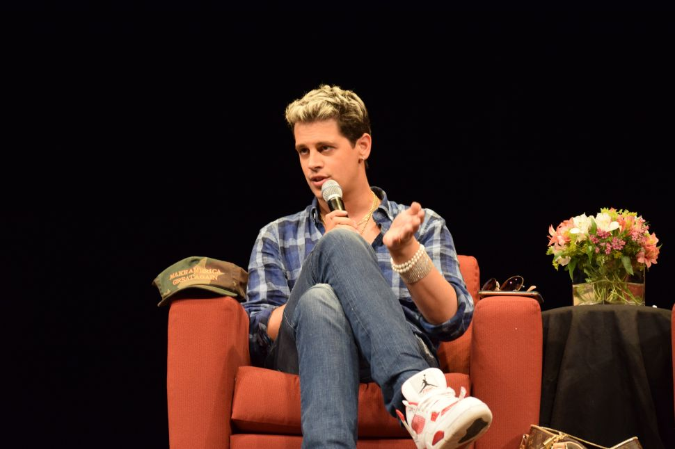 Why an Artist Would Go on 'The Milo Yiannopoulos Show'