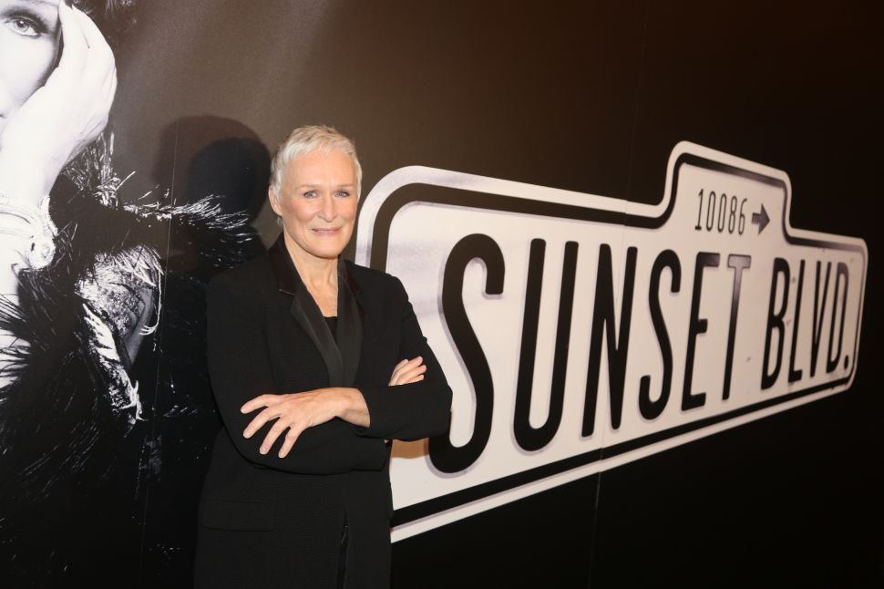 Mr. DeMille, I'm Ready for My Glenn Close-Up: 'Sunset Boulevard' Opens on Broadway