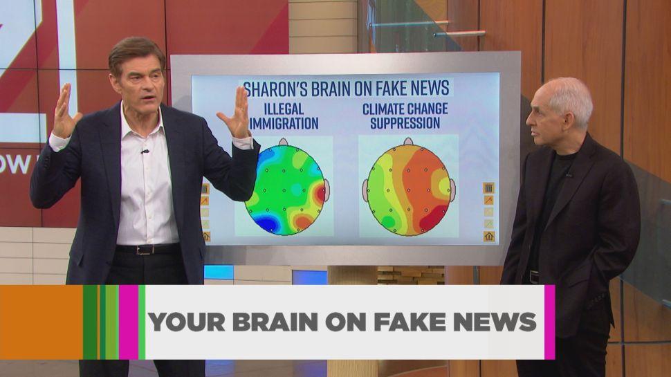 Dr. Oz: EEG Brain Scans Reveal Fake News Threatens Your Health
