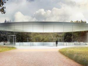 The Steve Jobs Theater at Apple Park