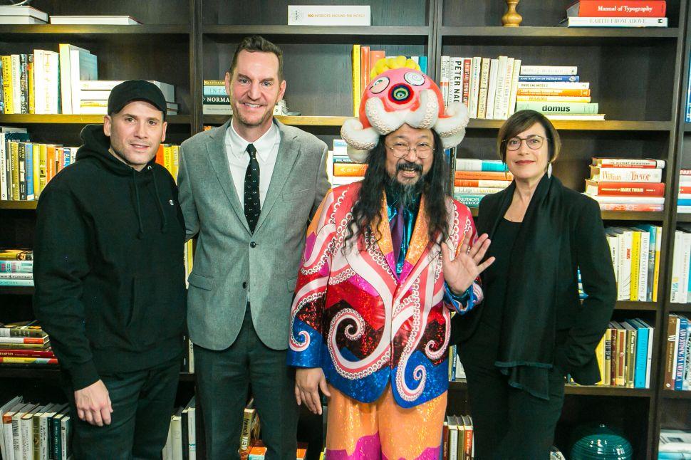The Self-Deprecatory Octopus: Murakami in New York