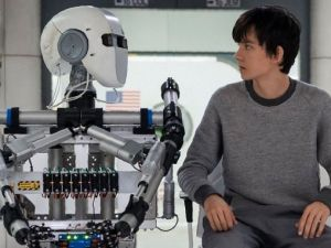 Asa Butterfield in The Space Between Us.
