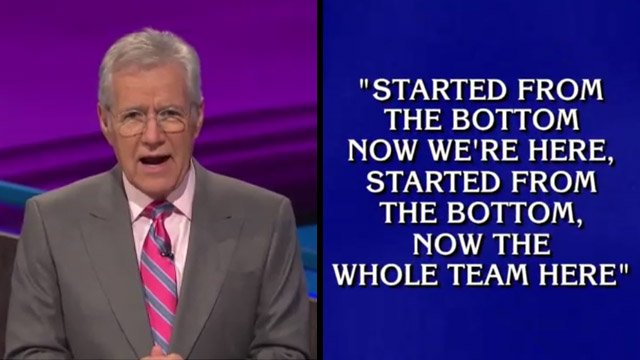Is Alex Trebek's Remix of Drake's 'Started From the Bottom' Better Than the Original?
