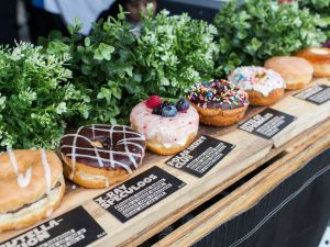 Donut Friend's donuts and punk-rock references should be popular on the Westside.