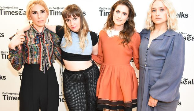 The cast of Girls emphasized their different personal styles through their outfits for the evening's talk.