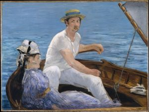 Edouard Manet's Boating is now available for download and modification.