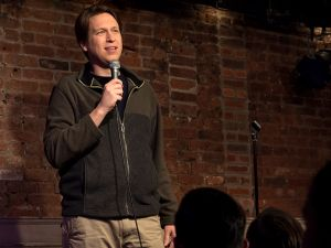 """Stand-up comedian """"Pete Holmes"""" played by Pete Holmes"""