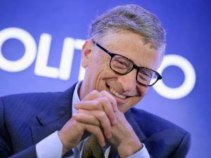 Bill Gates sans disguise.