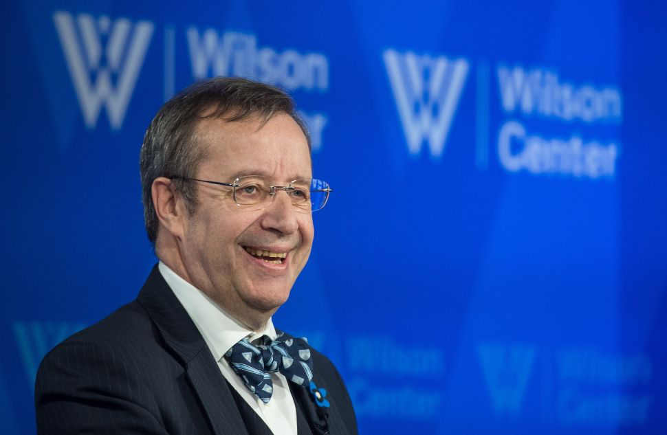 Ex-Estonian President Toomas Ilves Financed Posh Life on Country Credit Card