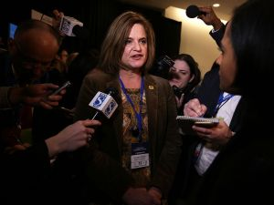 Hillary Clinton 2016 Campaign communications director Jennifer Palmieri