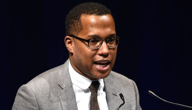 Playwright Branden Jacobs-Jenkins.