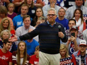 Conservative radio talk show host Glenn Beck.
