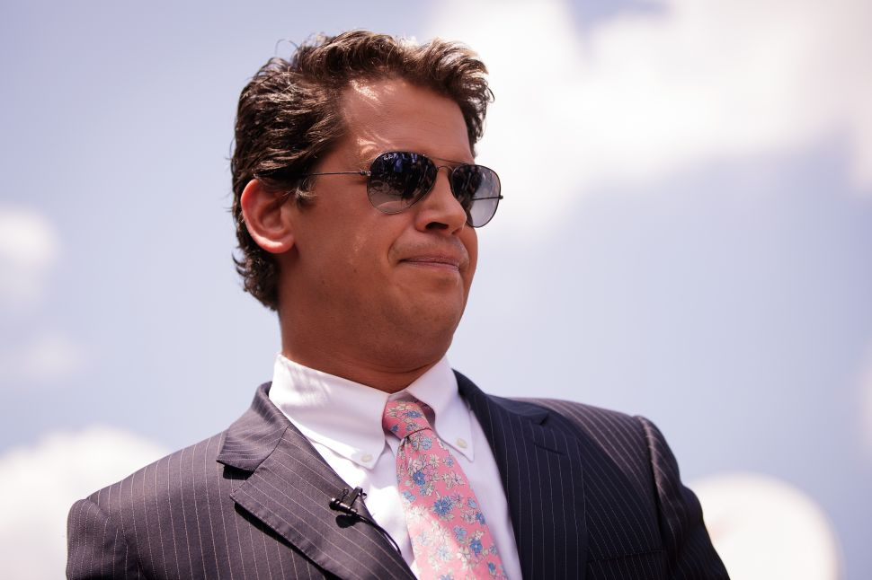 Left Attacks ACLU for Defending Milo Yiannopoulos' Right to Free Speech