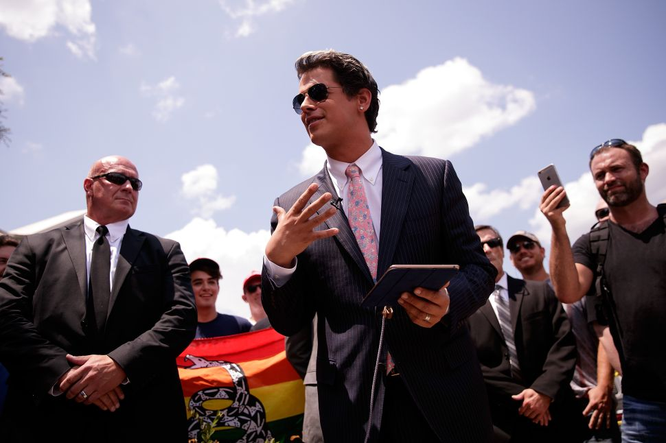 Milo's Seeming Support for Man-Boy Love Is Worse Than the Inaction That Undid Paterno