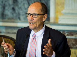 Former Secretary of Labor Tom Perez