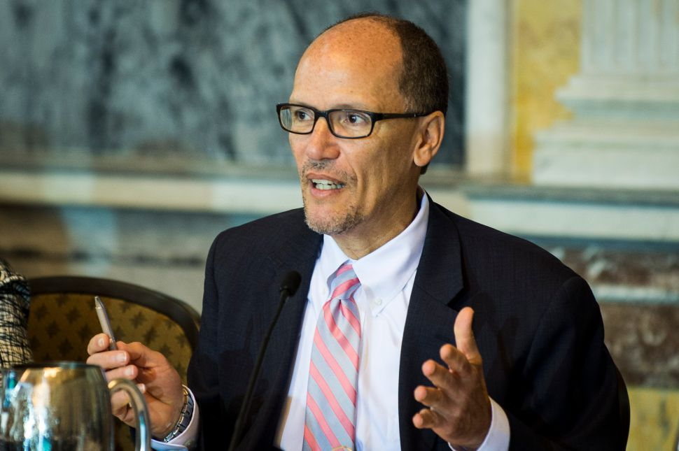 DNC Chair Candidate Tom Perez Admits Democratic Primaries Were Rigged