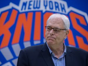 New York Knicks President Phil Jackson.