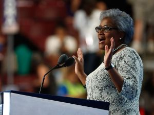 Interim DNC chair Donna Brazile.