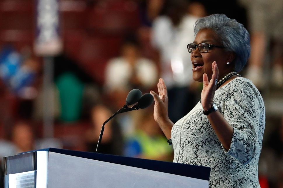 Donna Brazile Leaves DNC Legacy of Helping Trump Get Elected