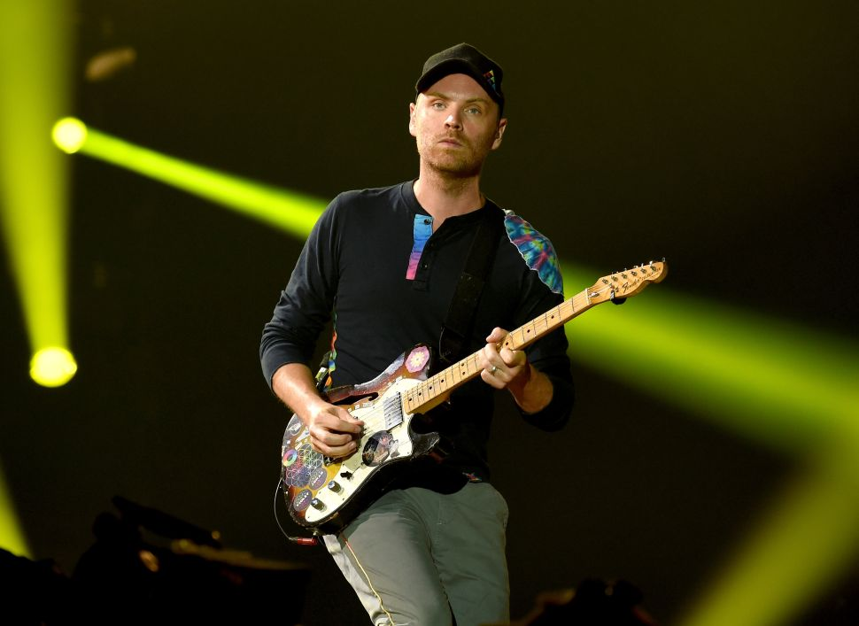 Coldplay's Jonny Buckland Could be Your Neighbor and Landlord
