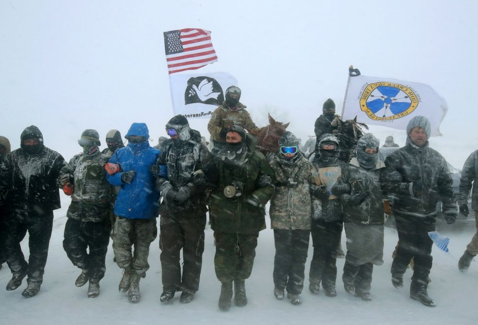 Police Continue Harassing, Smearing Standing Rock Water Protectors