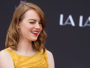 HOLLYWOOD, CA - DECEMBER 07: Actress Emma Stone attends 'Ryan Gosling and Emma Stone hand and footprint ceremony' at TCL Chinese Theatre IMAX on December 7, 2016 in Hollywood, California. (Photo by Emma McIntyre/Getty Images)