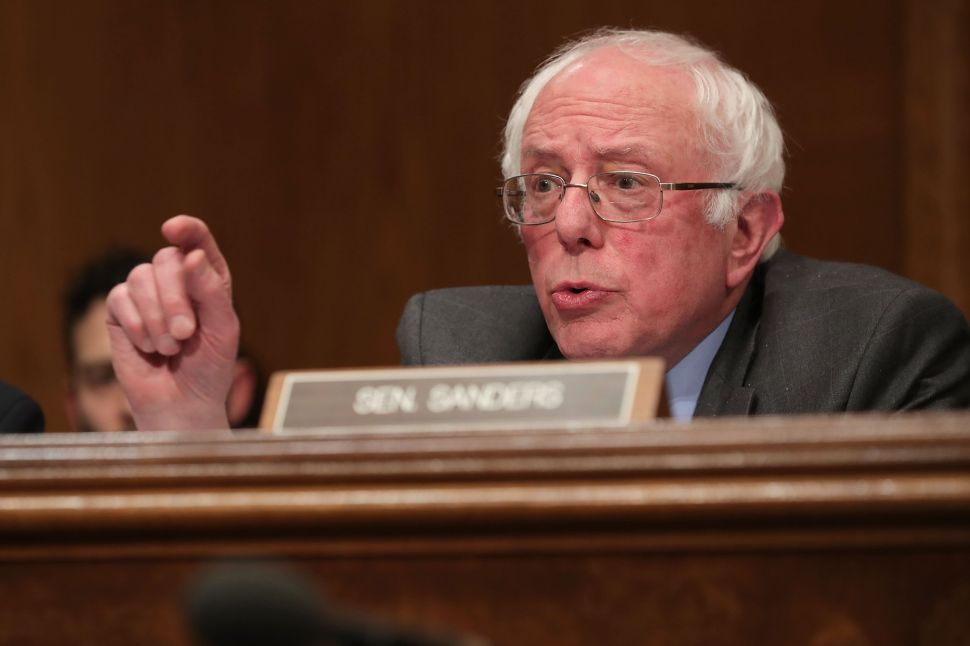 Bernie Sanders Puts the Democratic Party in Check