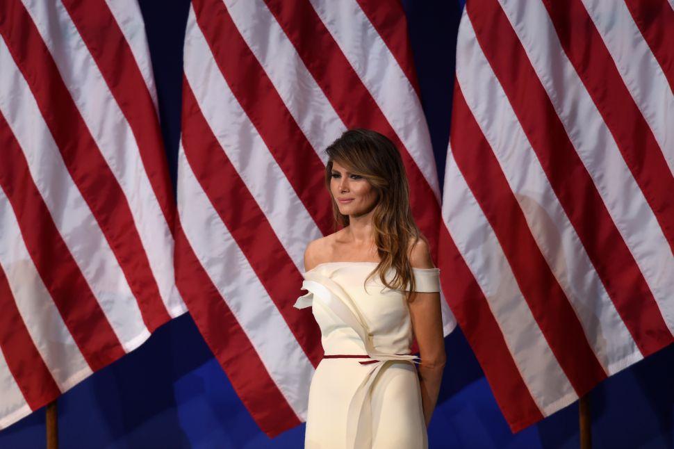 Melania Trump Taps Interior Designer; Matthew Perry Checks Out Midtown