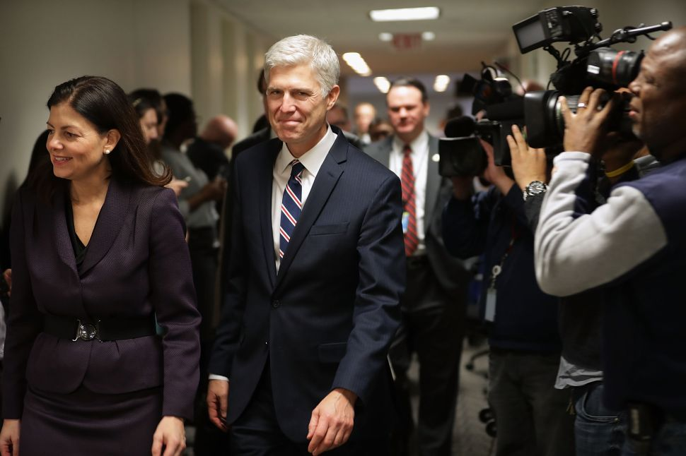 Gorsuch Is Not Just a Safe Choice—He Is the Right Choice