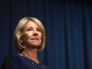Betsy DeVos' confirmation showed that
