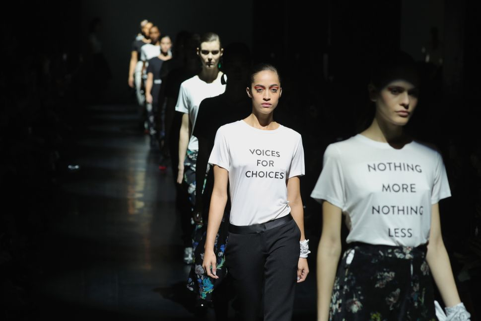 Prabal Gurung Used His Runway to Make a Major Political Statement