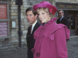 Prince Charles and Diana, the Princess of Wales photographed in 1982.