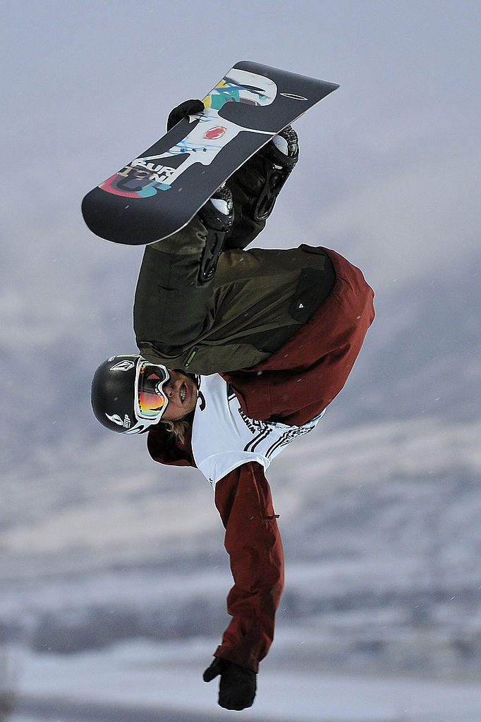 Professional Snowboarder Kevin Pearce Is on Tour With Lululemon
