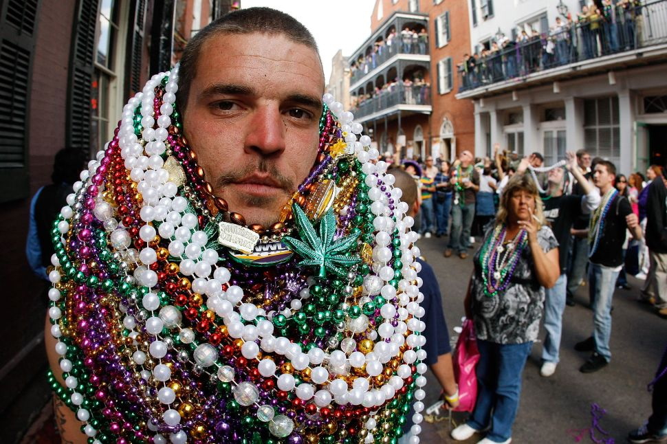 The Destructive Life of a Mardi Gras Bead
