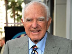 Judge Joseph Wapner receives a star on the Hollywood Walk Of Fame on November 12, 2009 in Hollywood, California.