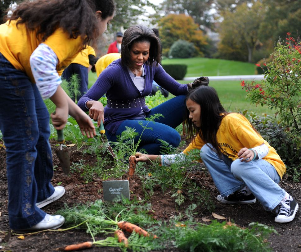 Melania Trump Won't Demolish Michelle Obama's Beloved White House Vegetable Garden
