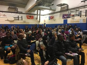 More than 100 people showed up to Councilman Jumaane Williams' emergency forum on Donald Trump's executive order targeting immigrants.