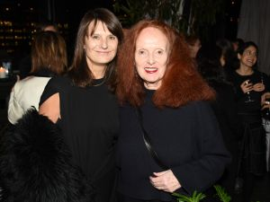 Marie-Amélie Sauvé and Grace Coddington.