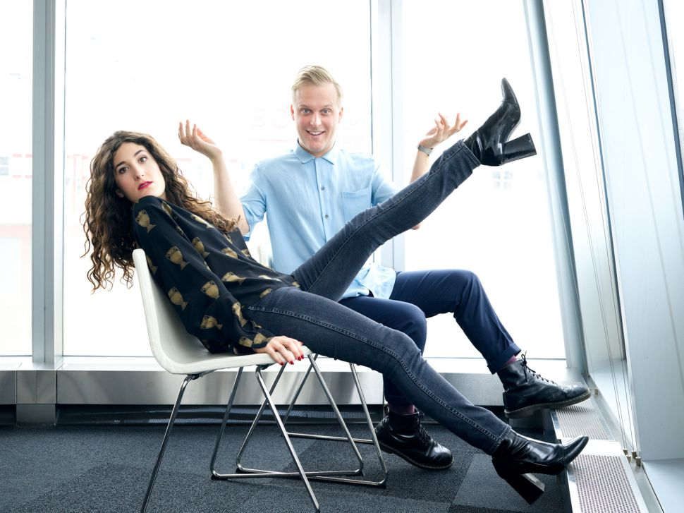 John Early and Kate Berlant on New Vimeo Series '555'; Why Cringe Is Always Funny