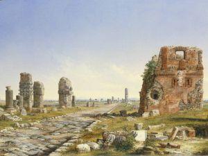 John Linton Chapman, The Appian Way, 1869.
