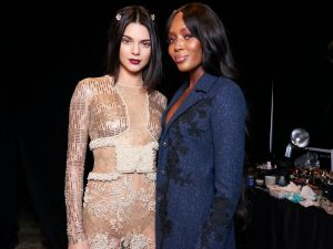 Kendall Jenner and Naomi Campbell.