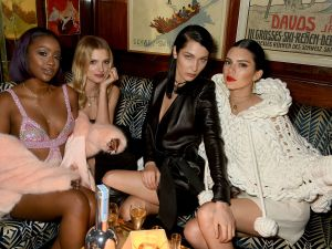 Lily Donaldson, Bella Hadid and Kendall Jenner