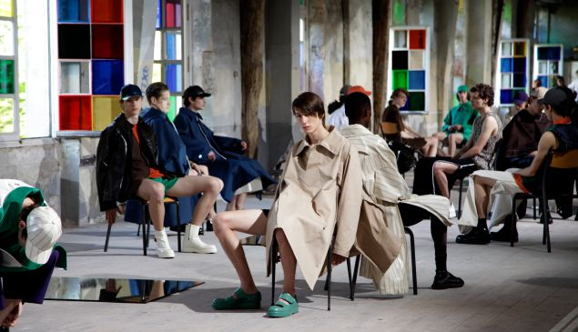 Acne Studios S/S 17 show produced by Eyesight Group
