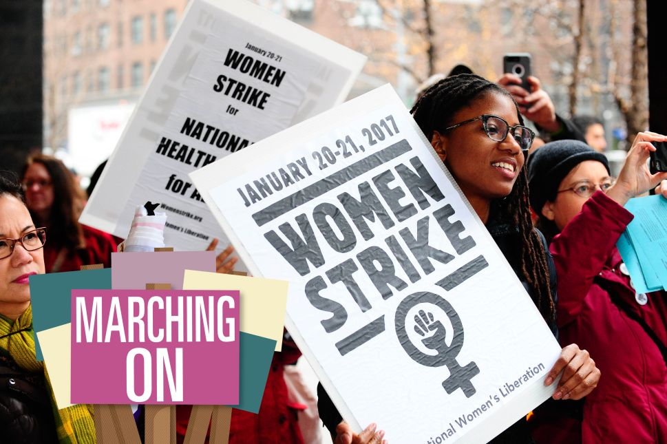 For Activist Who Grew Up Seeing Black Women Lead, Women's March Is Familiar Terrain