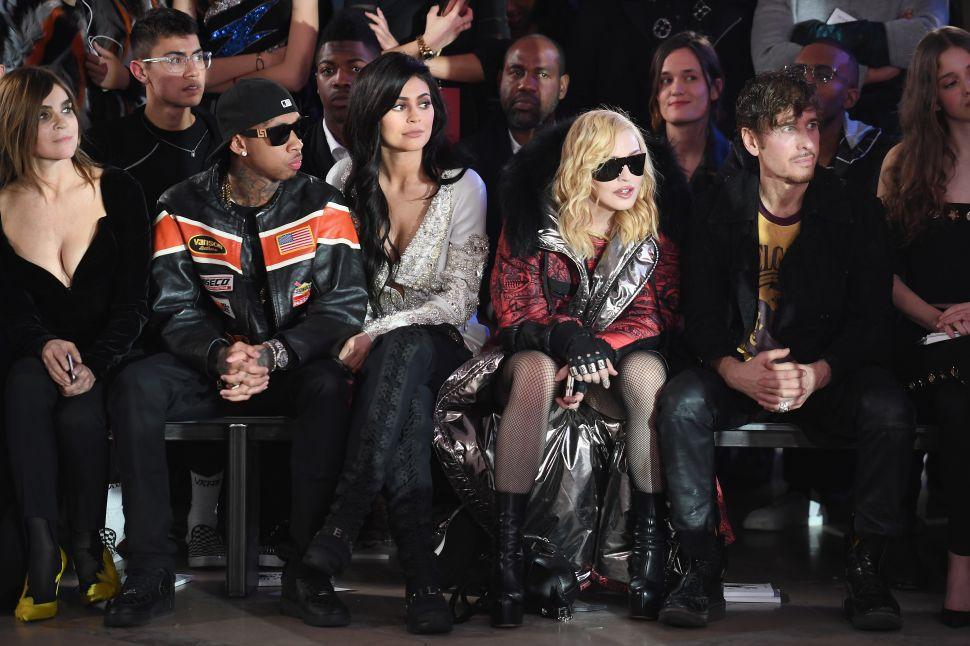 Madonna, Tiffany Trump Party at Philipp Plein's Surreal Fashion Week Party