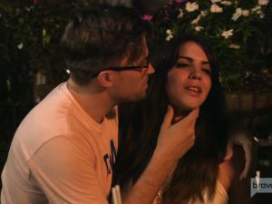 Tom and Katie, two people on Vanderpump Rules who either like or do not like each other. (Unclear!)